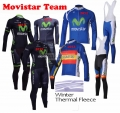 2015 MOVISTAR  dlhý termo fleece zimný