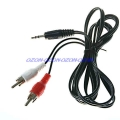 3,5 mm audio jack na RCA audio