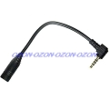 4-pin 2,5mm na 3,5mm audio jack konvertor