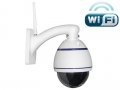 IP kamera – wifi, 1.0 Megapixel, HD IP PTZ Dome 4X Optický zoom
